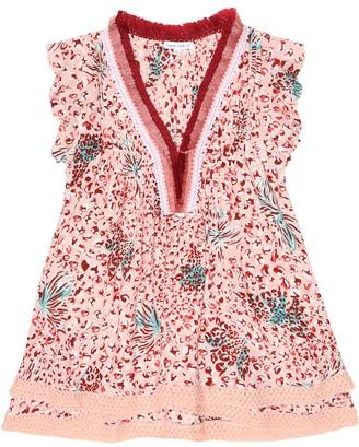 Poupette St Barth Kids Sasha printed dress