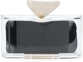 Benedetta Bruzziches Medea plexiglass clutch bag