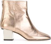Marc Ellis - metallic boots - women - Leather/Suede - 37