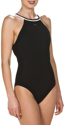 Arena Plus Size Therese Crossback Performance One-Piece Swimsuit