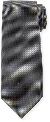 Emporio Armani Micro-Dot Silk Tie