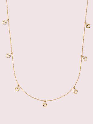 Kate Spade Shining Spade Long Scatter Necklace