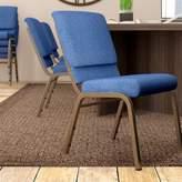 Church's MacArthur Chair Ebern Designs Seat Finish: Blue