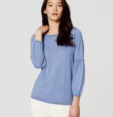 LOFT Lantern Sleeve Sweater