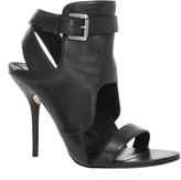 Max Studio Palor - Leather Ankle Wrap Sandals
