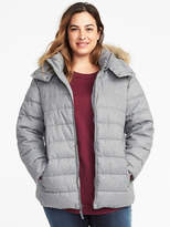 Old Navy Frost-Free Hooded Plus-Size Jacket