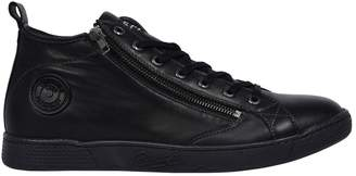 Pataugas Jayer Leather High Top Trainers
