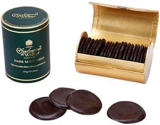 Charbonnel et Walker Dark Chocolate Mint Thins 200G