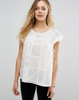 Maison Scotch Patchwork Top