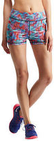 Aeropostale Womens Lld Multi Geo Volleyball Shorts White