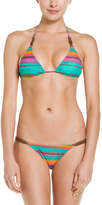 Sofia by Vix ViX Lima Multicolor Stripe Detail Bottom