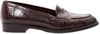 Brooks Brothers Brown Leather Flats