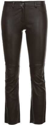 Sylvie Schimmel cropped trousers