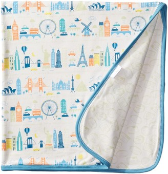 Magnificent Baby World Cities Blanket