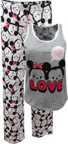 Briefly Stated Disney Tsum Tsum Mickey and Minnie Tank Capri Plus Size Pajama for women