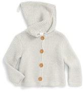 Infant Stem Baby Organic Cotton Hooded Cardigan