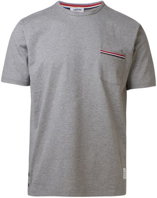 Thom Browne T-Shirt Tasca Grigia