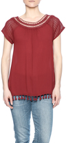 Blu Pepper Maroon Top