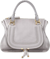 Chloé Marcie Large Leather Satchel Bag