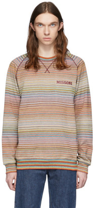 Missoni Multicolor Striped Sweatshirt