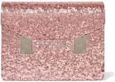 Sophie Hulme Compton Glittered Perspex Clutch - Pink