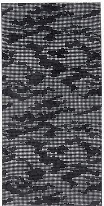 Pottery Barn Teen Digi Camo Beach Towel, Black/Gray