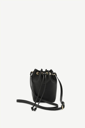 Ardene Faux Leather Drawstring Bag
