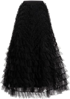 RED Valentino A-line tulle skirt