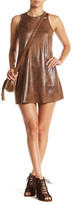 Angie Faux Leather Tank Dress