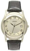 Gucci 5500M Stainless Steel / Leather 35mm Mens Watch