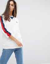 Le Coq Sportif Premium Retro Long Sleeve T-shirt