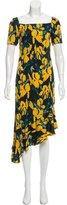 Vena Cava Floral Print Silk Dress