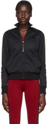 Fendi Black FF Roma Stamp Zip-Up Sweater