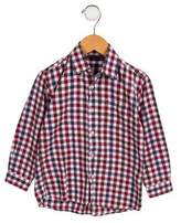 Oscar de la Renta Boys' Flannel Button-Up Shirt
