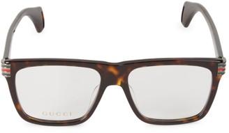 Gucci 54MM Square Optical Glasses