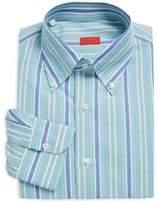 Isaia Regular-Fit Striped Dress Shirt