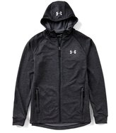Under Armour Mens UA Tech Terry Fitted Full Zip Hoodie