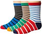 Jefferies Socks Stripe Crew Socks 3-Pair Pack (Toddler/Little Kid/Big Kid)