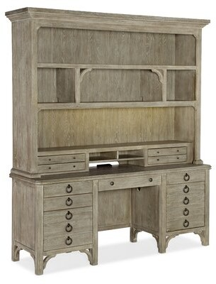 Hooker Furniture Repose Credenza Desk