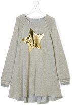Elsy sequined sweatshirt dress