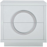 Chic Home Sorrento White Side Table