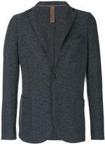 Eleventy exposed seam blazer