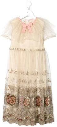 Gucci Kids Romantic Lace dress