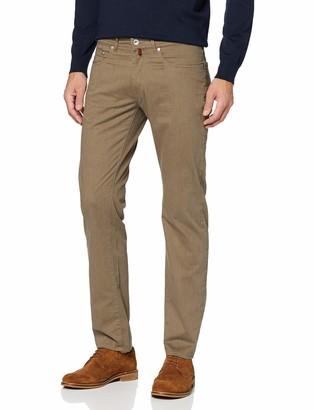 Pierre Cardin Men's Melange Structure Satin-LYON Relaxed Trousers