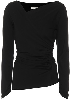 Dorothee Schumacher Fascinating Drapes stretch-jersey top