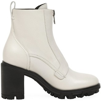 Rag & Bone Shiloh Zip Leather Combat Boots