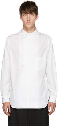 Yohji Yamamoto White Asymmetry Shirt