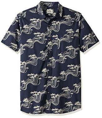 Rip Curl Men's BALLENA Short Sleeve Shirt