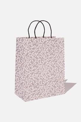 Typo Get Stuffed Gift Bag - Medium