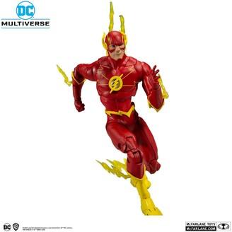 "Dc Multiverse 7"" Action Figutr - Wv3 - Modern Comic Flash"